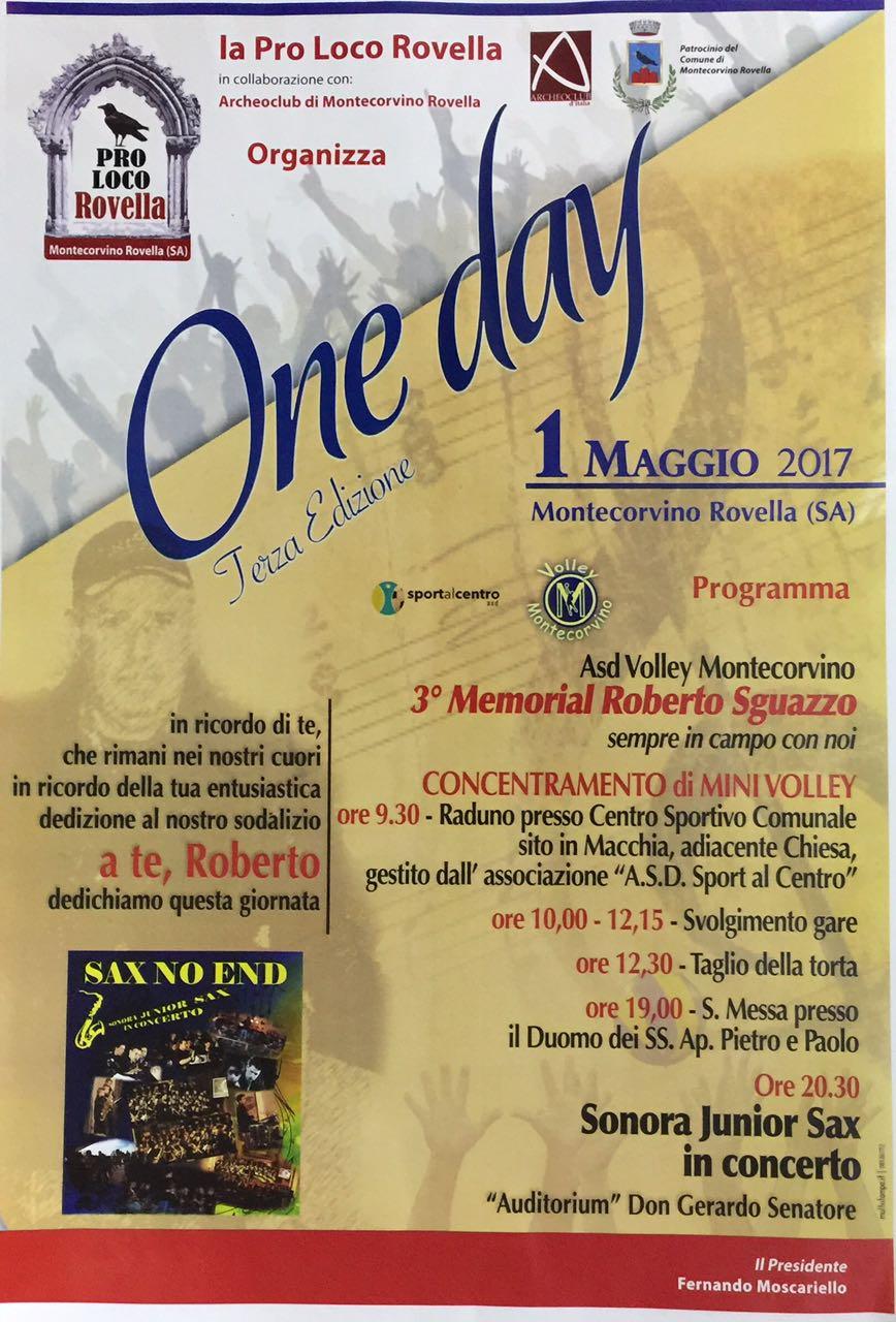 oneday terza edizione
